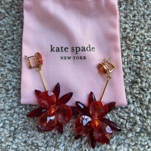 Kate Spade Flower Chandelier Earrings